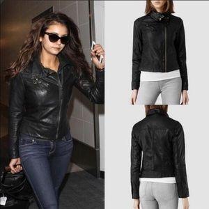 Authentic ALL SAINTS Belvedere Leather Jacket